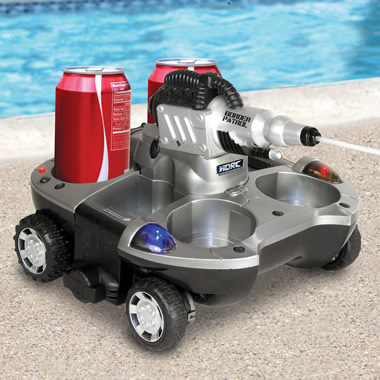 The Remote Controlled Armored Drink Carrier