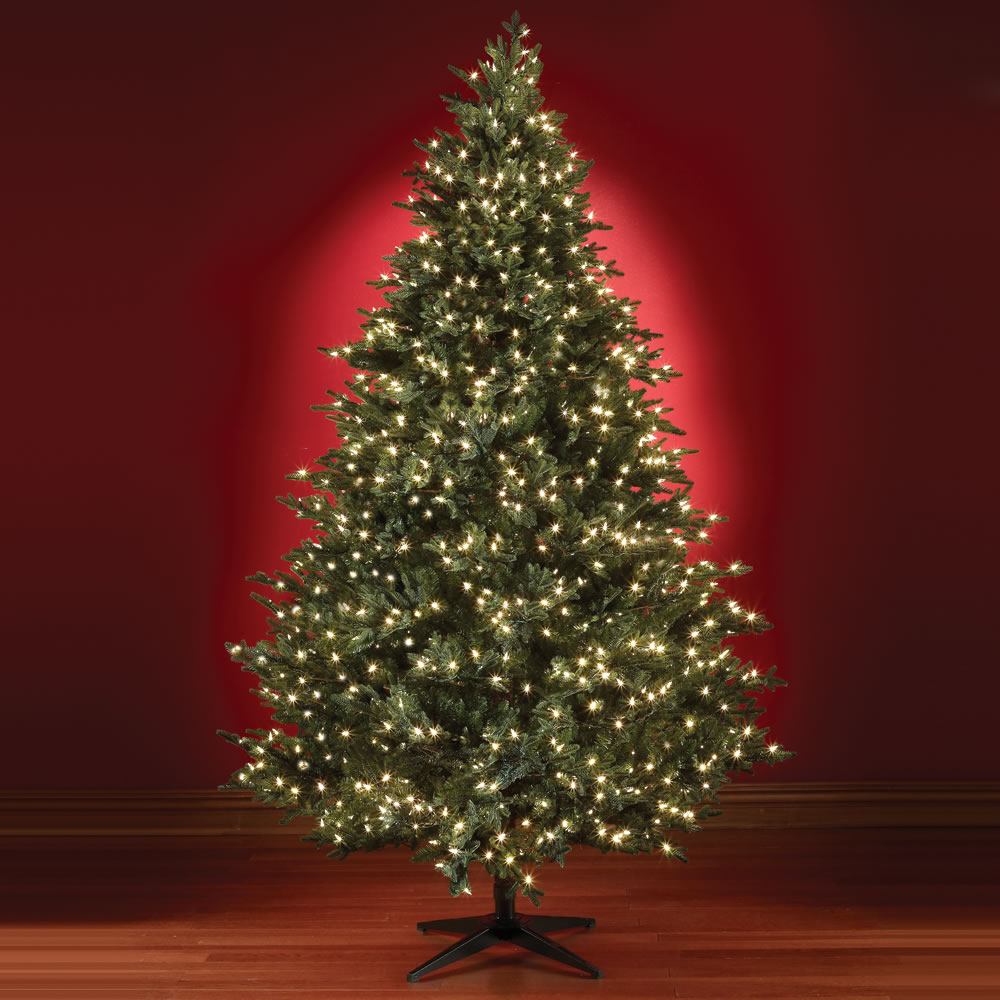 the five minute christmas tree 75 full hammacher schlemmer - Christmas Tree With Lights