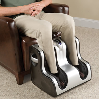The Heated Circulation Enhancing Lower Leg Massager