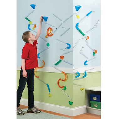 The Wall Mounted Marble Roller Coaster
