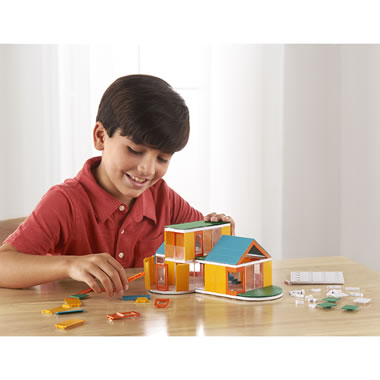 The Young Architect's 160 Piece Building Set Concept