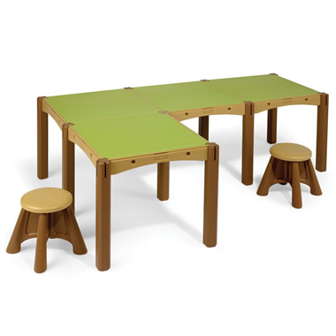 The Configurable Play Table And Stools
