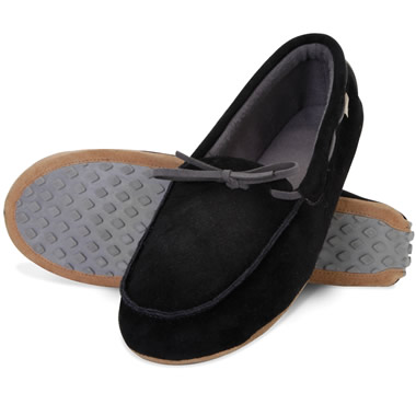 The Gentlemen's Deer Suede Inside/Outside Moccasins