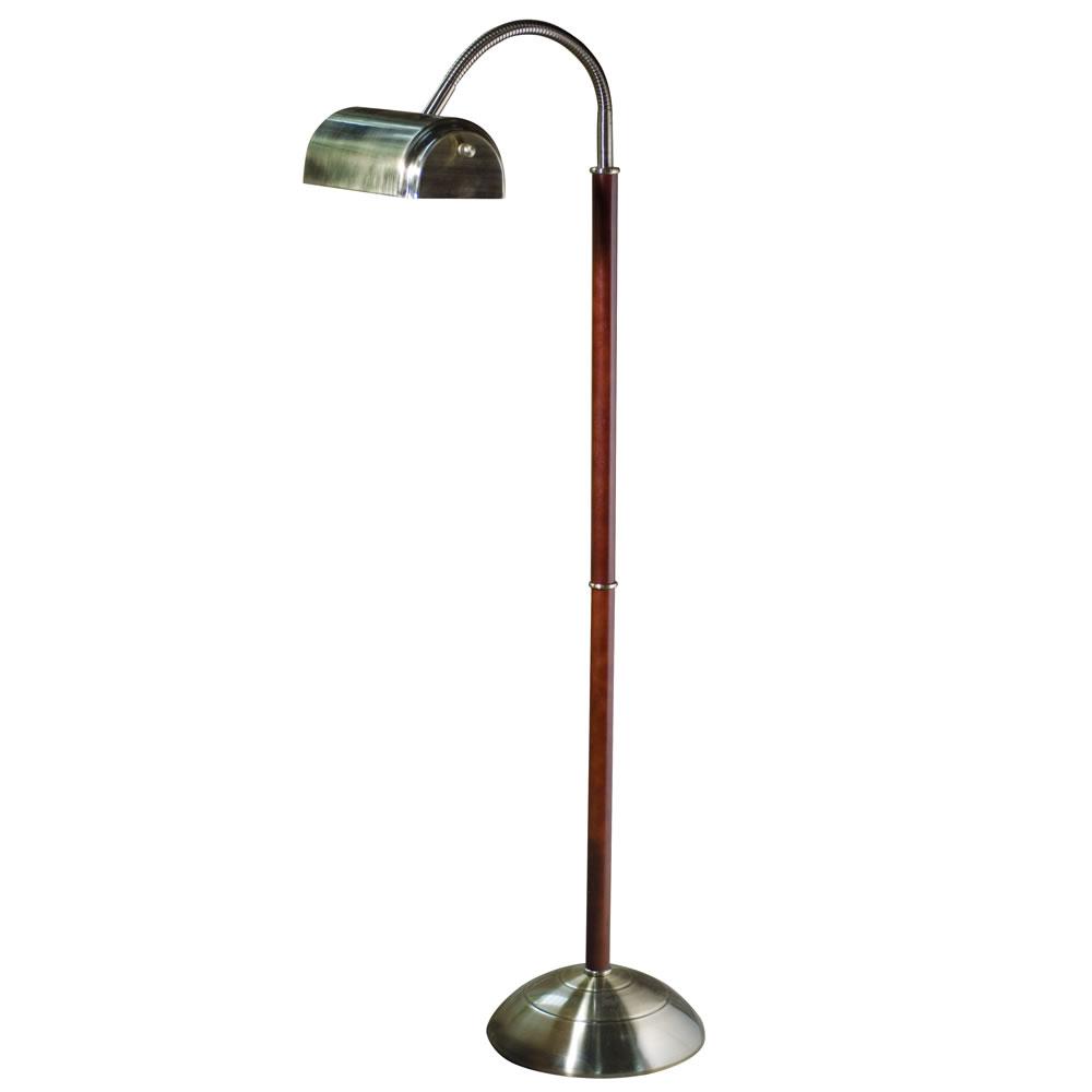 daylight floor lamp cordless the eyestrain reducing floor lamp lamp hammacher schlemmer