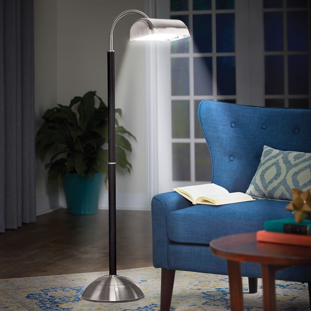 The Eyestrain Reducing Floor Lamp Hammacher Schlemmer