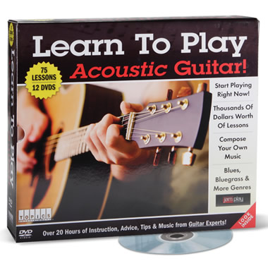 The Learn To Play Acoustic Guitar DVDs