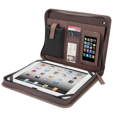 The Kangaroo Leather iPad Portfolio