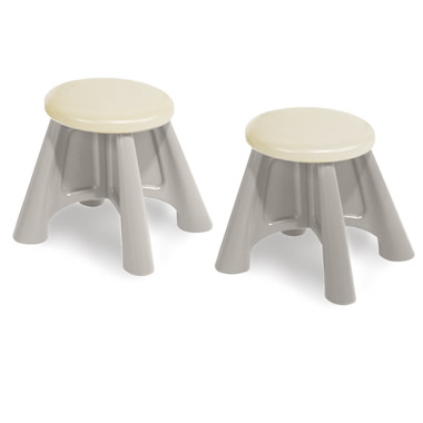 Two Additional Stools for The Configurable Play Table