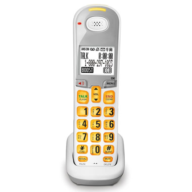 Additional Cordless Handset for The Caller Announcing Large View Telephones