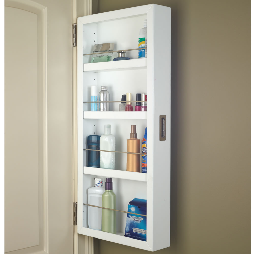 The Back Of The Door Cabinet Half Hammacher Schlemmer