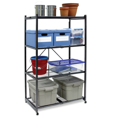 The Rolling Instant Storage Shelf