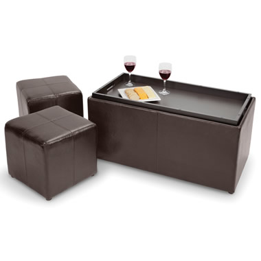 The Hideaway Seating Coffee Table