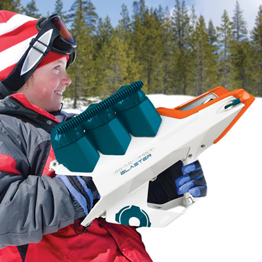 The 50 Foot Snowball Launcher
