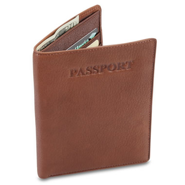 The Argentinian Leather Passport Wallet.