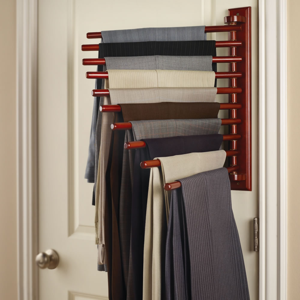 Charmant The Closet Organizing 10 Trouser Rack