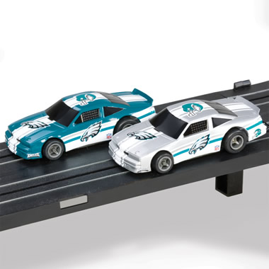 The National Football League Slot Car Set