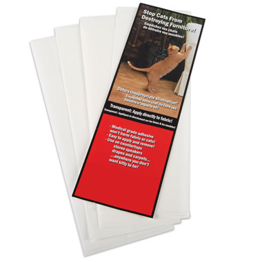 Additional 24 Cat Deterrent Strips for The Cat Scratch Deterring Furniture Preserver