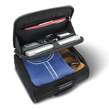 The Organized Traveler's Under Seat Rolling Carry On