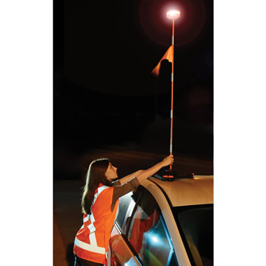 The 4 1/2' High Roadside Emergency Beacon