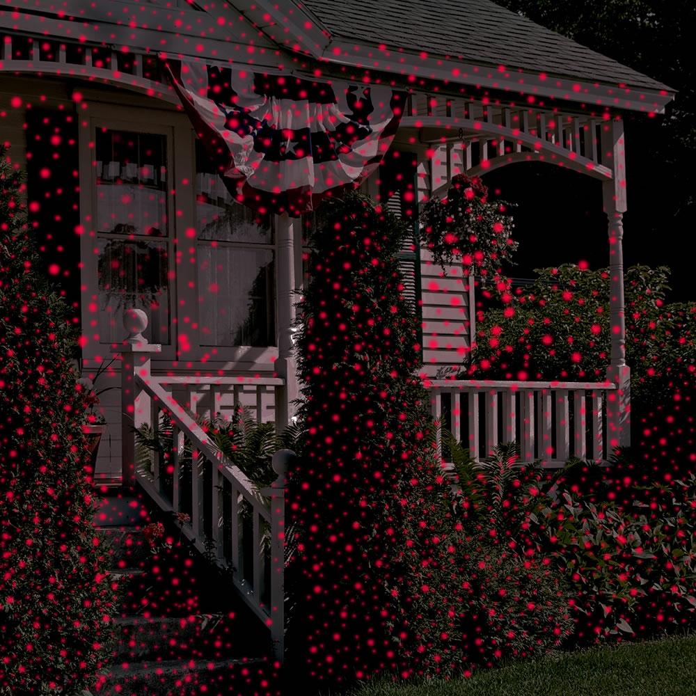 The Virtual Christmas Display Laser Light Projector - Hammacher ...
