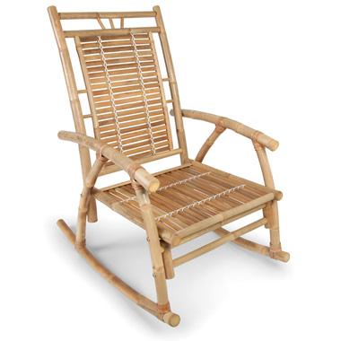 The Colonial Bamboo Rocker.