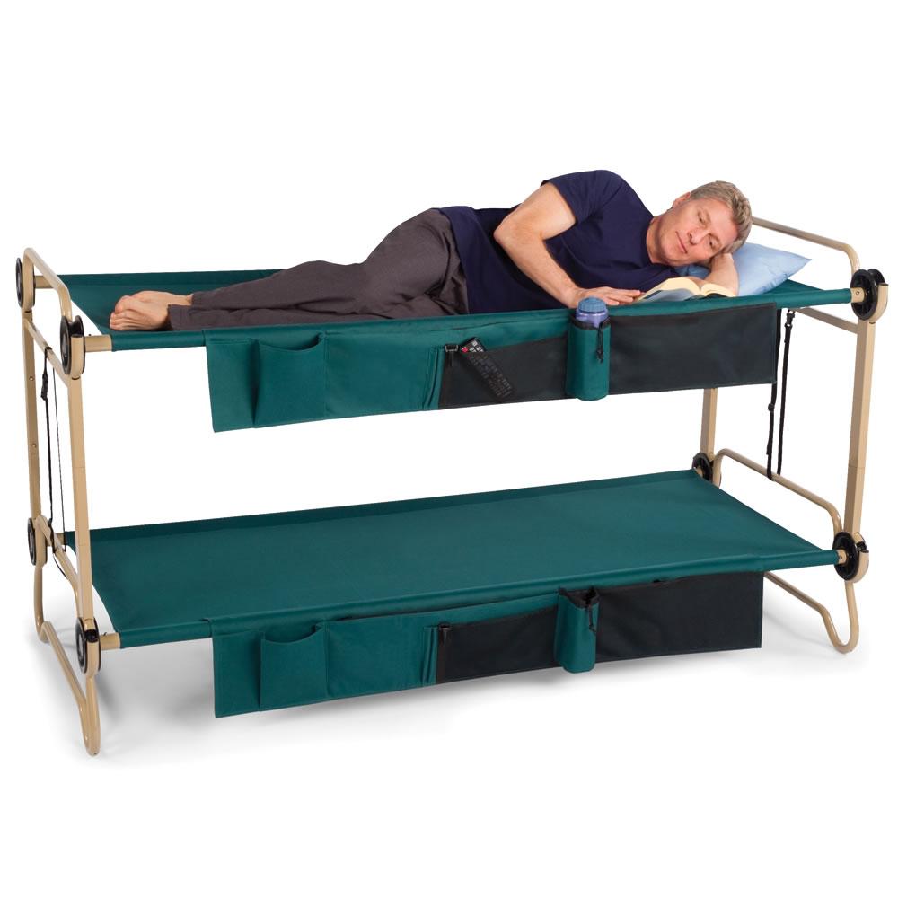 The Foldaway Adult Bunk Beds Hammacher Schlemmer