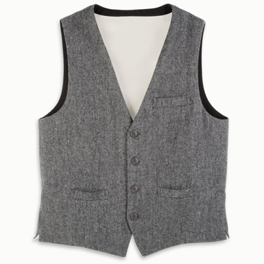 The Genuine Irish Tweed Vest