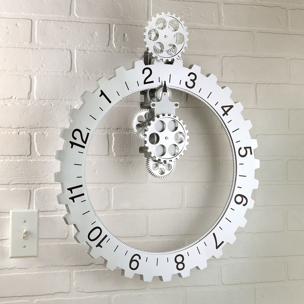 Wall clock hands decor