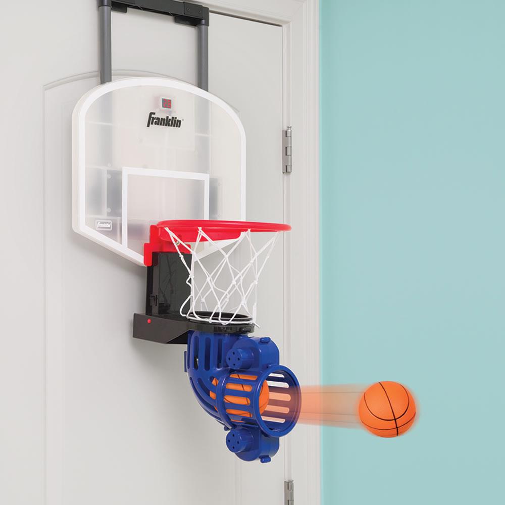 The Automatic Return Indoor Basketball Net - Hammacher ...