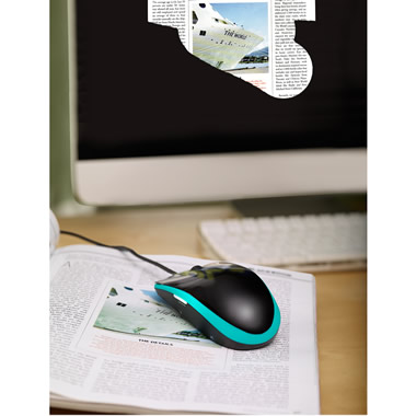 The Document Scanning Computer Mouse.