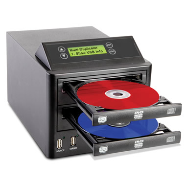 The DVD And USB Duplicator.
