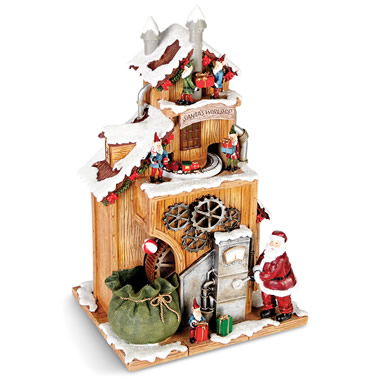 The Animated Santa's Workshop