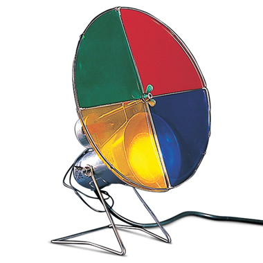 Color Wheel for The Classic Aluminum Tree.