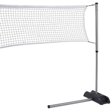 The Driveway Badminton Game.