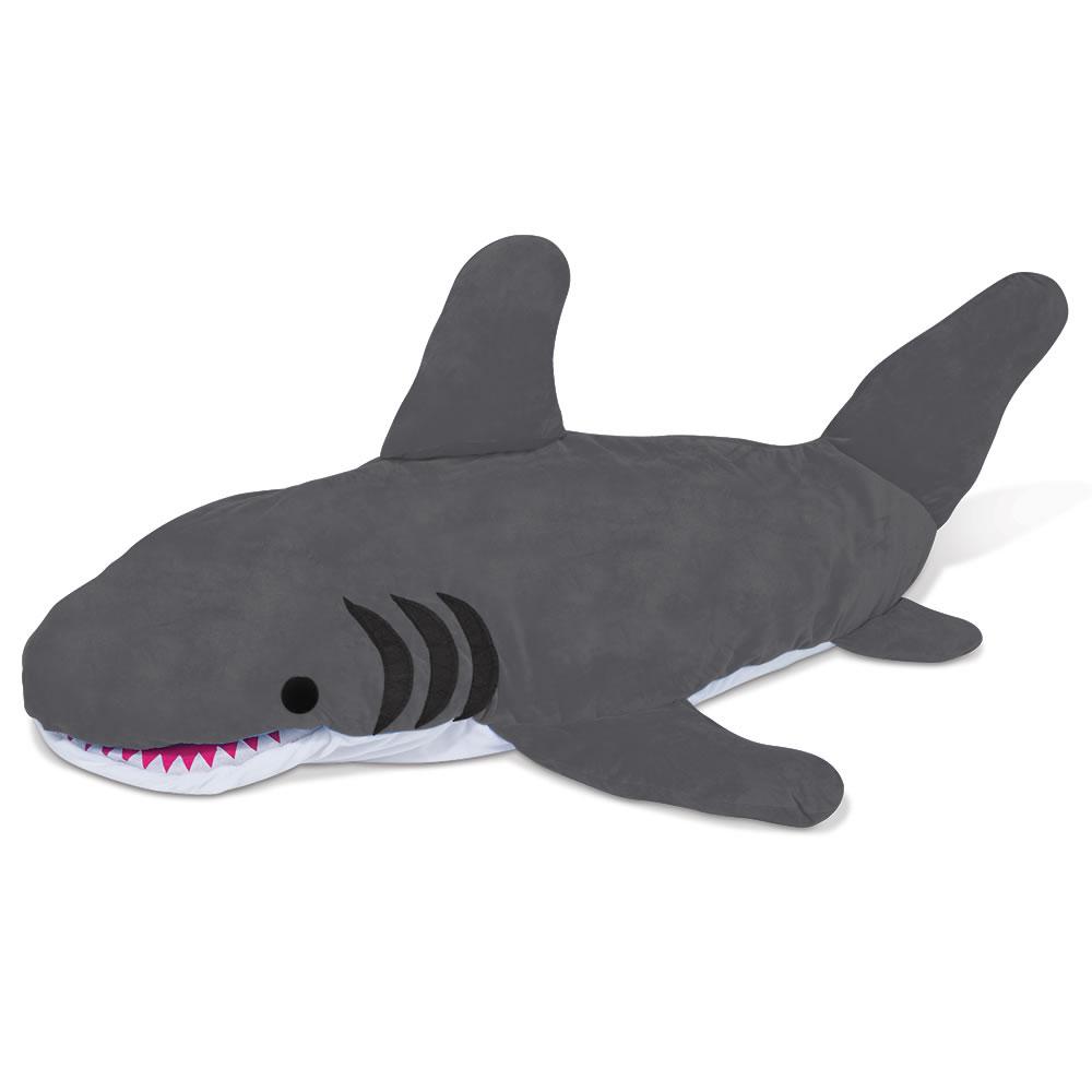 The Shark Bait Sleeping Bag - Hammacher Schlemmer