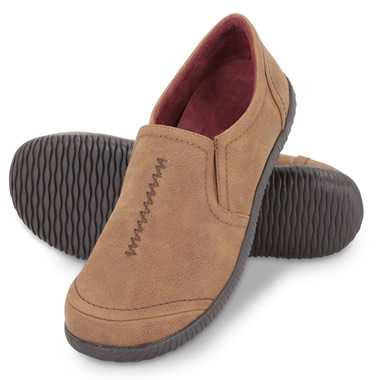 The Lady's Plantar Fasciitis Indoor/Outdoor Loafers