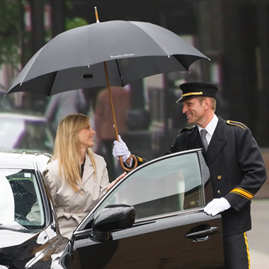 The Classic Doorman's Umbrella