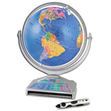 The Four Language Talking Globe