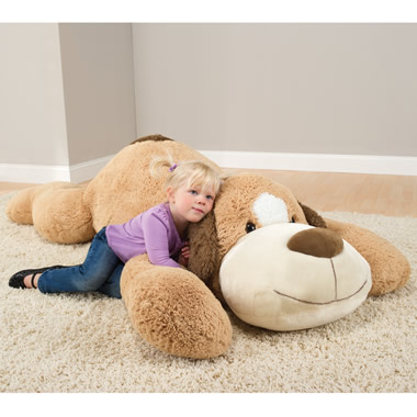 The 6 Foot Plush Puppy.