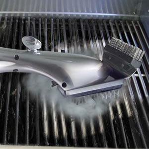 The Steam Cleaning Grill Brush