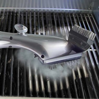 The Steam Cleaning Grill Brush.