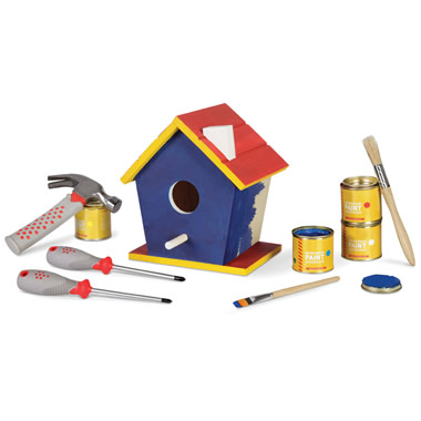 The Construct and Paint Birdhouse