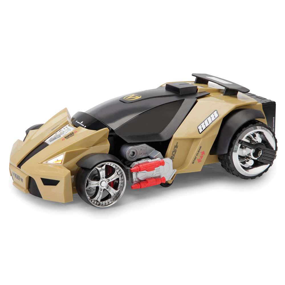 The remote controlled transforming robot car hammacher schlemmer the remote controlled transforming robot car malvernweather Images
