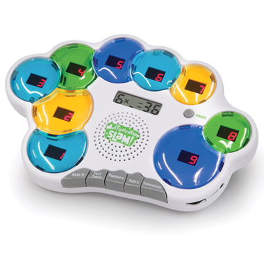 The Handheld Multiplication Slammer Game