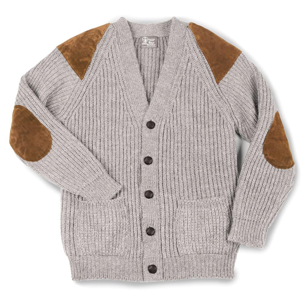 The Black Welsh Wool Sweater - Hammacher Schlemmer