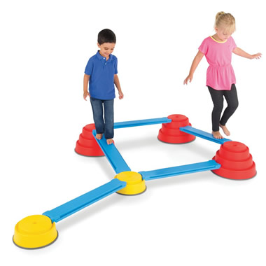 The Children's Balancing Obstacle Course