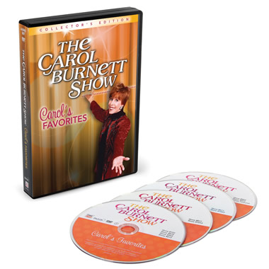 The Best of The Carol Burnett Show DVDs