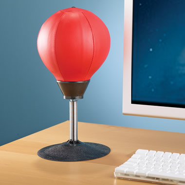 The Desktop Punching Bag.