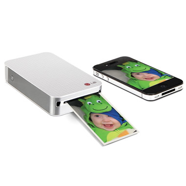 The Pocket Sized Smartphone Photo Printer