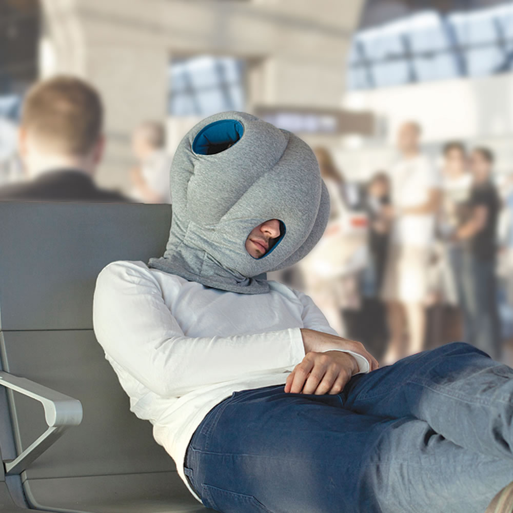 The Power Nap Head Pillow Hammacher Schlemmer